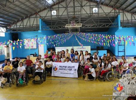 PCCF donates to Tahanang Walang Hagdanan, Inc