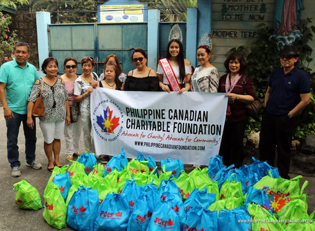 PCCF Donates to Missionaries of Charity