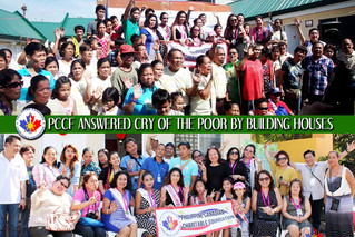 PCCF ANSWERED CRY OF THE POOR BY BUILDING HOUSES