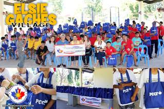 Philippines 2016 - PCCF Donates to Elsie Gaches
