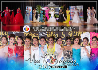 Miss Philippines Canada 2017 and Miss Teen Philippines 2017 Candidates at Pre-Pageant