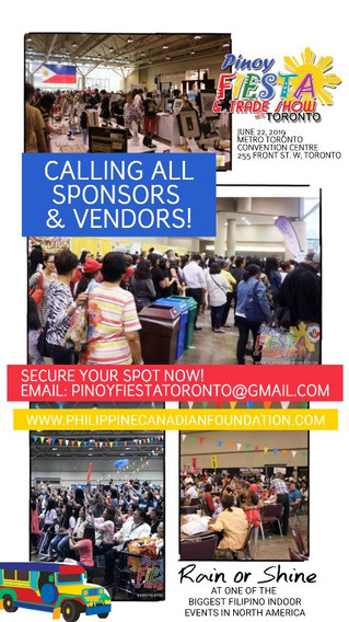 ATTENTION VENDORS & SPONSORS: Secure your spot now!