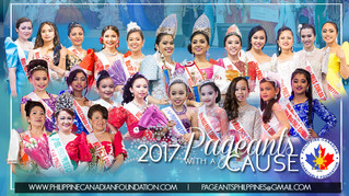 CONGRATULATIONS TO ALL THE AMAZING 2017 PAGEANTS WITH A CAUSE CANDIDATES!