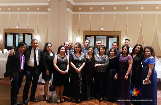 PCCF founder Senator Tobias Enverga Jr was honoured at a Celebration of Life Gala