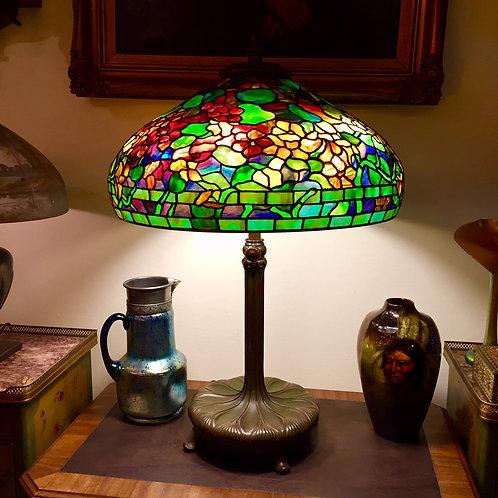 """22"""" Tiffany Studios Nasturtium Lamp"""
