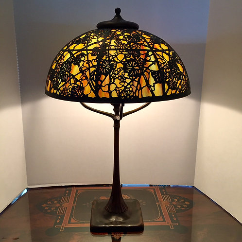 Tiffany Studios Grapevine Lamp