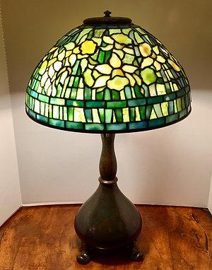 "Tiffany 14"" Daffodil Lamp"