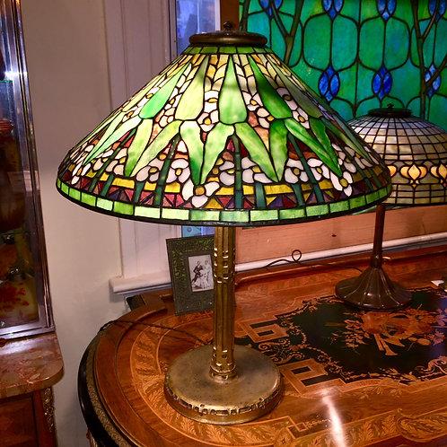 Tiffany Studios Arrowroot Lamp