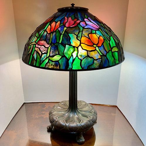 "16"" Tiffany Studios Tulip Lamp"