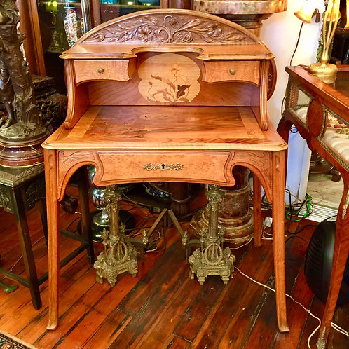 French Art Nouveau Desk