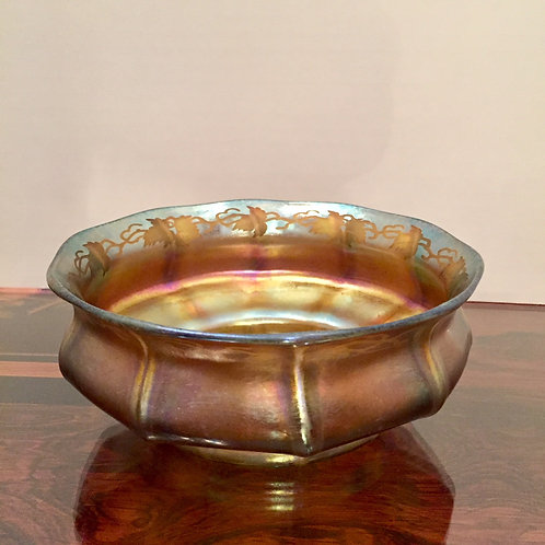 Tiffany Glass Bowl