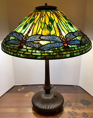 Twenty-Inch Tiffany Dragonfly Lamp