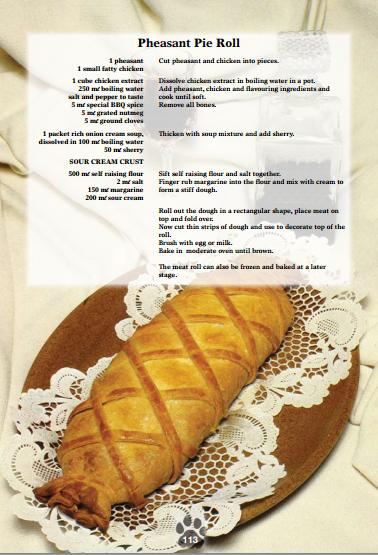 Pheasant Pie Roll