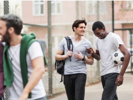 Making Room For Gray: Building male friendships after being sexually abused