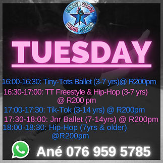 Brakpan Tuesday Schedule.jpg