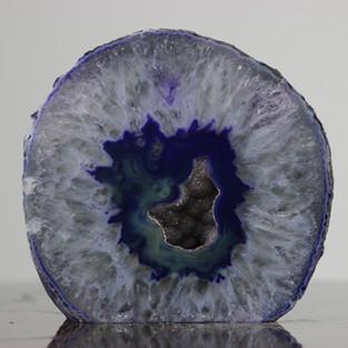 Purple Agate Geode