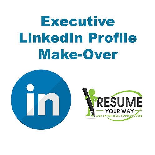 Executive Level LinkedIn Profile Make Over
