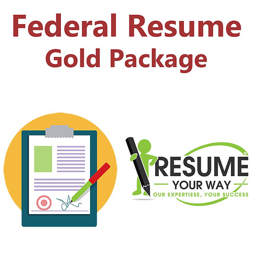 Federal Resume: GOLD Package