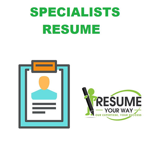Specialists Resume