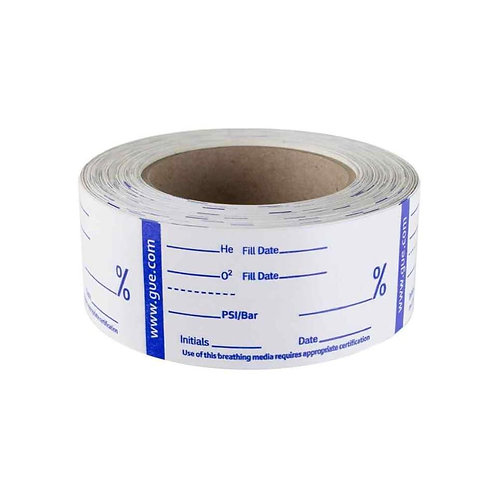 GUE Gas Analysis Tape, Roll