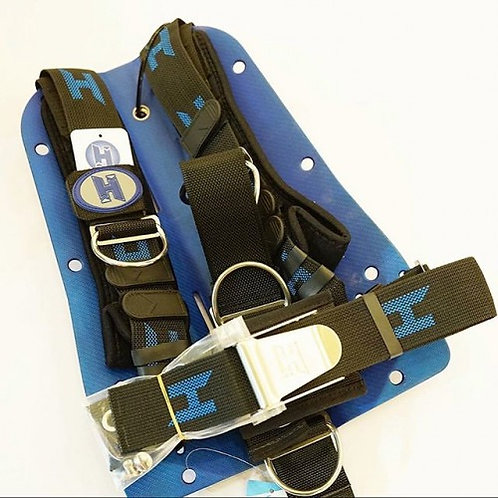 HALCYON Carbon Fiber Backplate + & Harness
