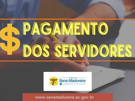 Prefeitura anuncia pagamento aos servidores efetivos para esta quarta-feira (08)