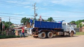 Parceria: Prefeitura recebe caminhão caçamba do Governo do Acre para ajudar no trabalho de limpeza