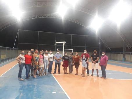 Prefeitura inaugura iluminação da Quadra de Esportes da Escola Euclides Cavalcante