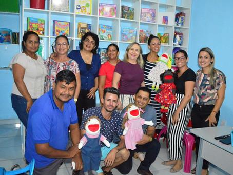 Sena Madureira é a primeira cidade do Acre a ter sala de Ludoterapia no CREAS