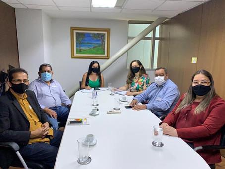 Em Brasília: Mazinho Serafim se reúne no FNDE para a retomada das obras na Escola Hermano Filho
