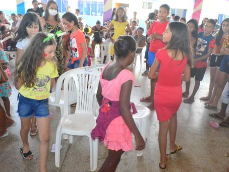 Secretaria Municipal de Cidadania promove evento em comemoração ao dia das crianças