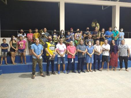 Prefeito Mazinho Serafim se reúne com a Cultura e define retorno da Banda Antônio Carlos Pereira
