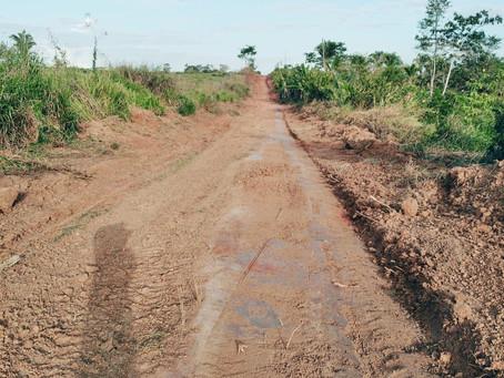 Prefeitura realiza trabalho de reabertura do Ramal Caçaborá e moradores agradecem