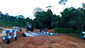 Missão Cumprida: Prefeitura conclui a construção da nova ponte do Ramal Xiburema