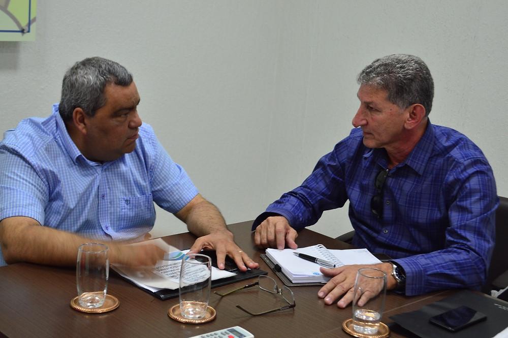 Superintendente da Funasa, José Ronaldo (Foto: Lucas Costa/ASCOM)