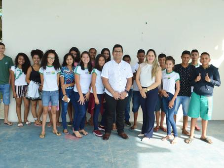 Estudantes visitam Secretaria de Meio Ambiente e conhecem ações importantes do município