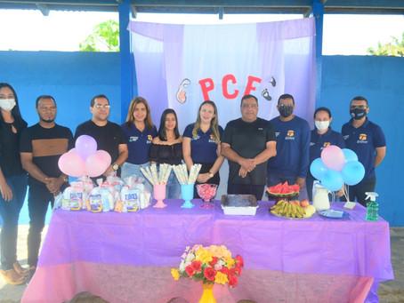Prefeitura promove café da manhã para crianças e gestantes cadastradas no Programa Criança Feliz