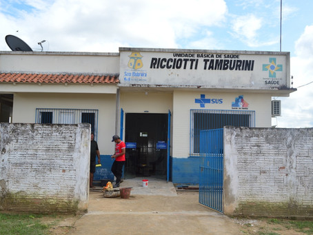 Prefeitura inicia reforma na Unidade Básica de Saúde Ricciotti Tamburine