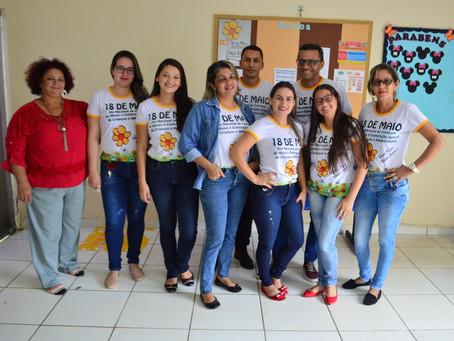 Creas realiza programação especial em combate ao Abuso Sexual contra crianças e adolescentes