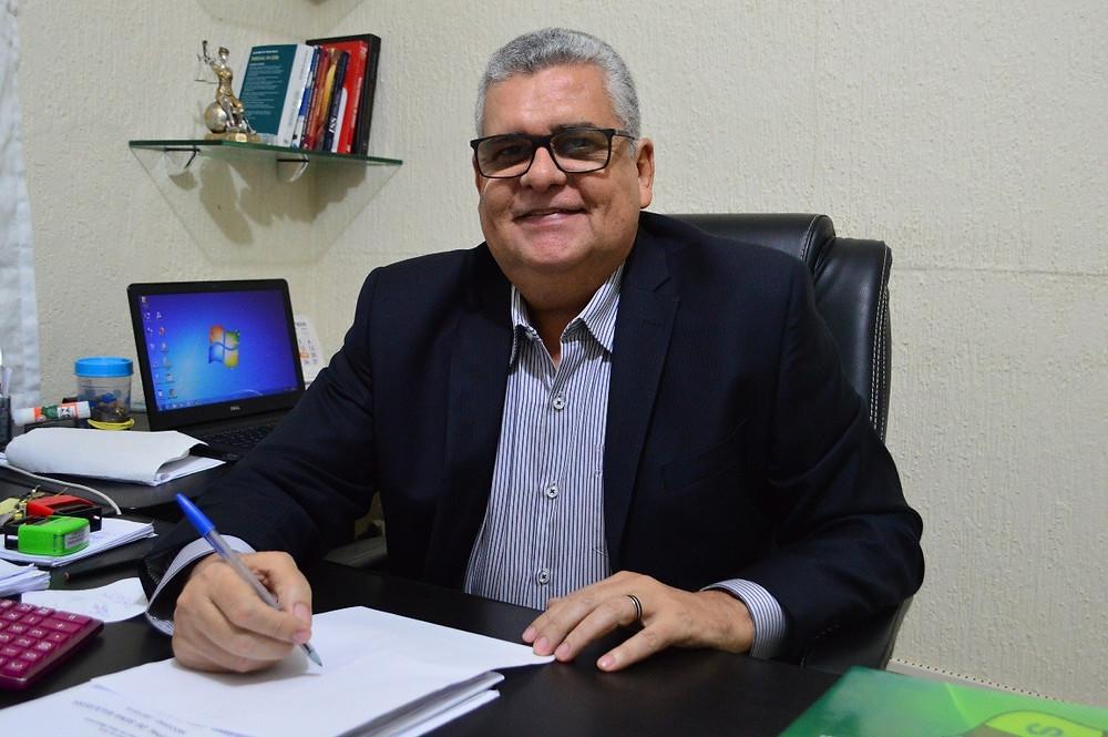 Getúlião Saraiva. Secretário de Administração e Finanças (Foto: Reprodução)