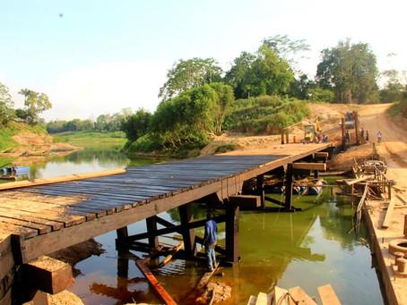 Trabalho de Construção da Ponte da Boca do Caeté entra na fase final