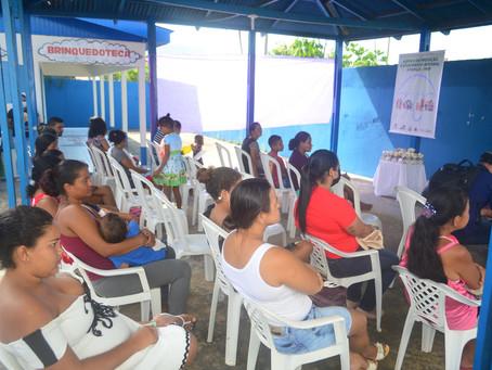 Evento no CRAS marca retorno dos atendimentos do PAIF em Sena Madureira