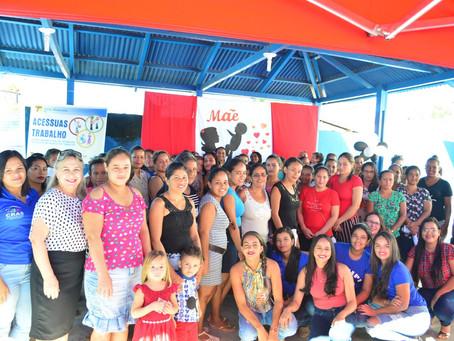 Mães são homenageadas pelo Centro de Referência e Assistência Social