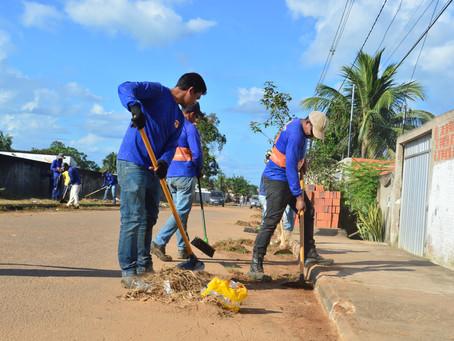 Prefeitura de Sena Madureira inicia mutirão de limpeza no Bairro Cidade Nova