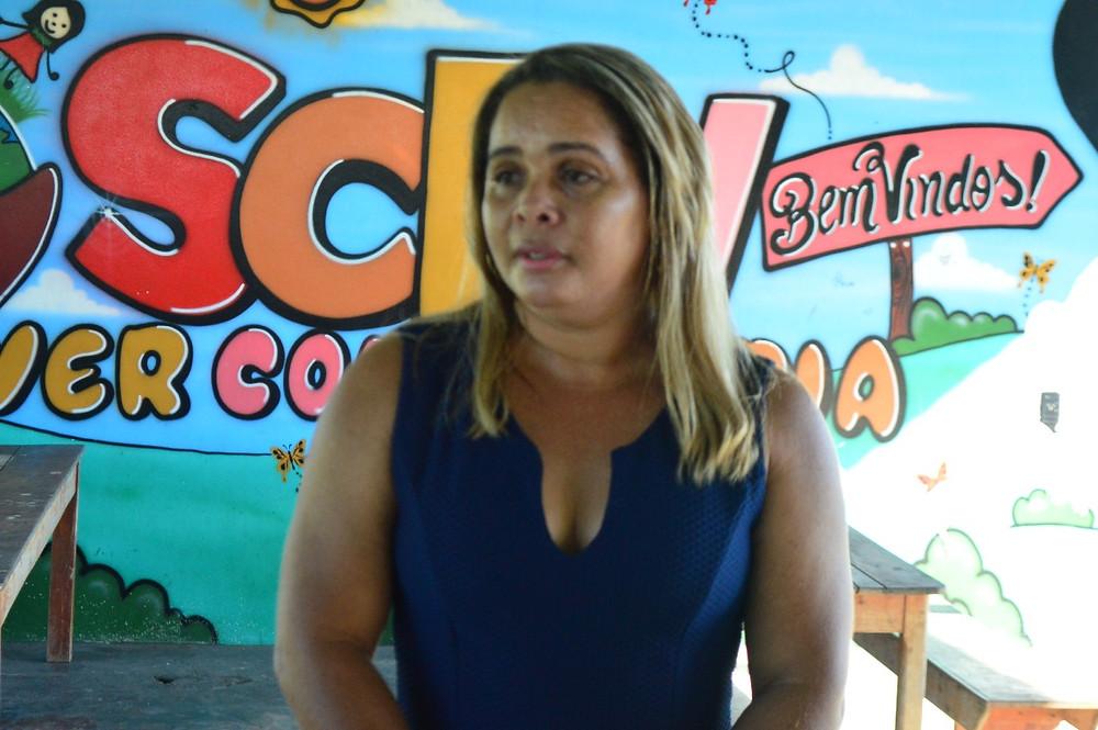 Cleonice Anjos - Coordenadora do SCFV