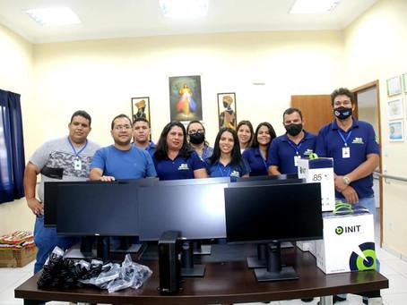 Servidores do Programa Bolsa Família recebem novos computadores para otimizar atendimento