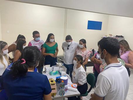 Prefeitura promove curso de capacitação para enfermeiros que atuam nas unidades básicas de saúde