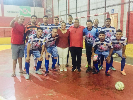 Seleção de Sena vence o Juventus, de Feijó, e continua na liderança do estadual de Futsal