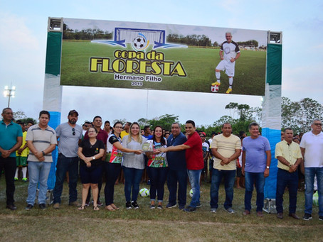 Prefeitura abre oficialmente os jogos da Copa da Floresta Profº Hermano Filho 2019