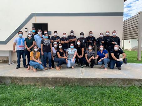 Prefeitura realiza testagem rápida no Presídio Evaristo de Moraes